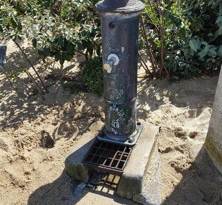 Fontaine publique potable